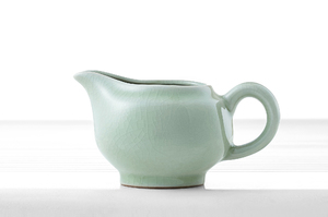 Celadon Crackle Glazed Set For Traditional Chinese Tea Ceremony